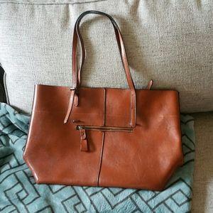 Handbags - Leather like-new handbag Unisex